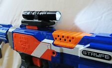 NEW Super Bright LED Tactical Light Custom Modified fits Nerf Rails / Flashlight