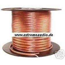 bobina de cable de altavoz - 10 m - 2x 2,50 mm² LS cable para CAR & Homehifi