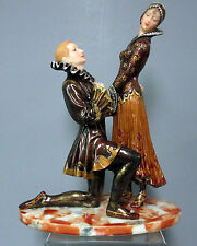 New Romeo & Juliet Lovers Figurine Man On One Knee Professing Love For His Lady