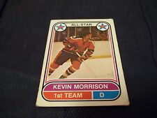 1975-76 OPC O-Pee-Chee WHA #63 Kevin Morrison Rookie San Diego Mariners - vg-