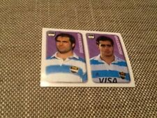 #182 Argentina Merlin Rugby World Cup 1999 sticker Topps