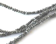 "15"" STRAND NATURAL BLACK DIAMOND CHIPS 2 - 3 MM 18 CTS 1 LINE #C9989"