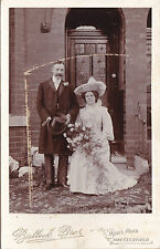 ANTIQUE CABINET  PHOTO -BRIDE @ GROOM. WEDDING PHOTO. MACCLESFIELD STUDIO