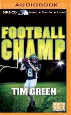 Football Genius: Football Champ 3 by Tim Green (2015, MP3 CD, Unabridged)