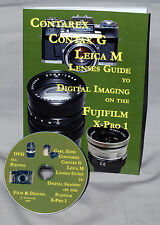 Contarex Leica M, Contax G Lenses Guide to digital on the Fujifilm X-Pro 1 + DVD