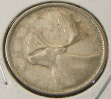 1955~~CANADIAN 25 CENTS~~SILVER~~SCARCE~~CANADA