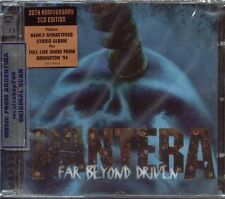 PANTERA FAR BEYOND DRIVEN 20TH ANNIVERSARY EDITION SEALED 2 CD SET 2014 REMASTER