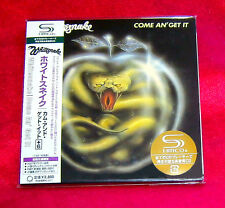 WHITESNAKE COME AN GET IT JAPAN MADE SHM MINI LP CD NEW OUT OF PRINT UICY-93742