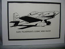 Glen Fulkerson Cosmic Wind National Air Racer Traveling Exhibit For Alaska Buyer