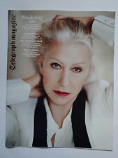 Dame Helen Mirren Telegraph magazine August 2014