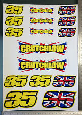 Cal Crutchlow Stickers - Large Decal Sticker kit (16 Stickers)