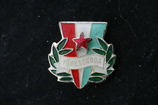 Hungary Hungarian Silver Torzsgarda badge Pin Communist Soviet Labor