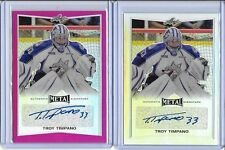 2015/16 Leaf Metal Troy Timpano OHL Sudbury Wolves Pink Prismatic Auto RC 1/10