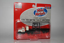 CMW MINI METALS HO SCALE US STEEL WHITE SUPER POWER TRACTOR, NEW IN BOX