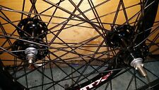 """Sun MTX-33 26"""" FGFS  Wheelset 36 Hole  built to order 10mm or 14 mm slotted axle"""