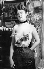 1890 PHOTO COLORADO PROSTITUTE VICTORIAN BACKGROUND CRIPPLE CREEK