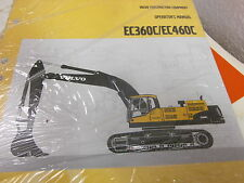 Volvo EC360 EC460 Excavator Operators Manual