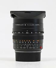 Leica 24mm f/1.4 Summilux-M Aspherical Manual Focus 6-Bit Lens