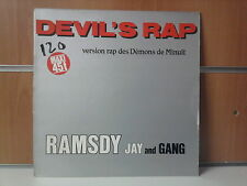 """RAMSDY JAY AND GANG devil's rap 12"""" MAXI 45T"""