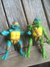 2005 TEENAGE MUTANT NINJA TURTLES (TMNT) McDONALD'S -- 2 ACTION FIGURES