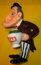 TOTO' STATUA CERAMICA ADVERTISING figure publicita' BRODO STAR pottery CAROSELLO