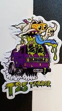 ¡t25 terror! sticker by ¡DANGER SIGN! hot rod VW custom dub t25 wedge ghost