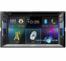 "JVC KW-V21BT DVD/CD/MP3 Player 6.2"" Touchscreen Bluetooth Pandora SiriusXM Ready"