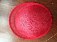 Hat  Sinamay Dipped  Base 8.5''x 7.5''x 1''