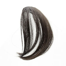 14cm Fasion Hot Fake Black Dark Brown Clip In On Bang Fringe Hair Extension