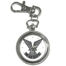 SELOUS SCOUTS CREST RHODESIA ARMY  KEYCHAIN WATCH **GREAT GIFT ITEM**