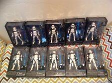 Star Wars: The Black Series - #01  Sandtrooper  6-Inch Figure lot x10