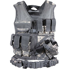 ACU Digital Tactical Vest / Combat Assault Airsoft Army Molle Attachment Rig Top