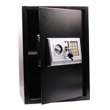 Black Large Electronic Digital Lock Keypad Safe Box Home Security Cash USA