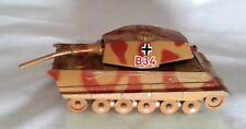 KING TIGER German Heavy Tank  CORGI TOYS  Original 70's  Pats Applied For