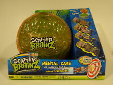 scatter brainz sticky deranged dart mental case 4 darts wind up spinning target