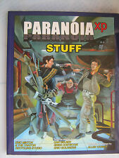 stuff xp paranoia sci-fi roleplaying RPG book MGP mongoose