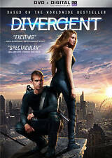 DIVERGENT - DVD & Digital - BRAND NEW FACTORY SEALED