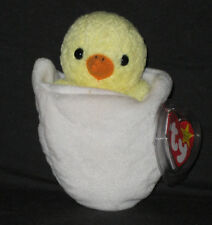 TY EGGBERT the BABY CHICK  BEANIE BABY - MINT TAGS