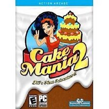 NEW PC CD-ROM Software Cake Mania 2 free shipping to the U.S.