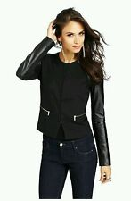 $328 GUESS BY MARCIANO VANCE LEATHER BLAZER