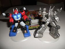 Takara Transformers G1 SCF PVC Act 4 lot Ultra MAgnus, painted and pewter chase