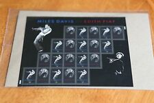 2012 #4692-4693 Miles Davis and Edith Piaf - Sealed Full Pane of 20 MNH