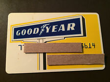 Goodyear Tire & Rubber Company 1970's Vintage Collectors Credit Card