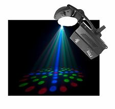 Chauvet DJ LX-10X 6W LED Moonflower Dance Lighting Effect Mirror Scanner Light