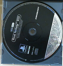 Final Fantasy VIII 8 - Promo Gioco Completo - New - PlayStation 1 - PSX