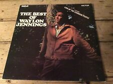 The Best Of Waylon Jennings - Feat. Love Of The Common People - RCA LSA-3000 Ex+