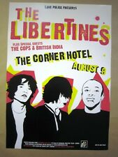 Libertines British India @ The Corner Richmond 04 Concert Poster Art Jazz Feldy
