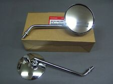 1969 1970 HONDA CB750K0 BACK MIRROR R&L SET SANDCAST F024 NEW