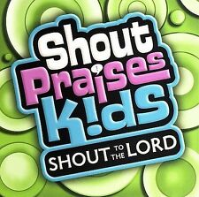 Shout Praises Kids Shout to the Lord CD 2006 Integrity Worship cut out hole