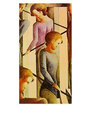 Oskar Schlemmer Szenerie auf der Treppe Poster Kunstdruck Bild 72,5x57,3cm